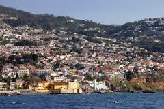 Funchal, Ansicht vom Ozean Stockfotos