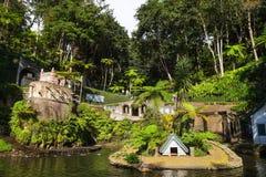 Funchal botaniska trädgårdar, madeira Arkivbilder