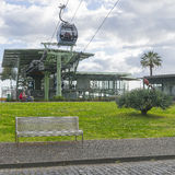 Funchal Cable car Royalty Free Stock Photos