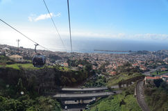Funchal Cable cars Stock Photos