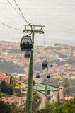 Funchal Cable cars Royalty Free Stock Photo