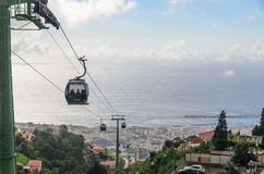 Funchal Cable cars Stock Photography