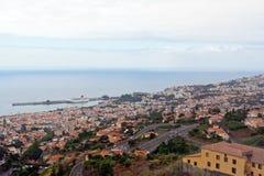 Funchal capital av Madeira Royaltyfri Fotografi