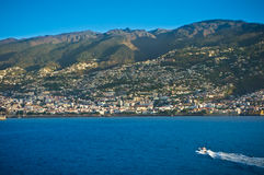 Funchal capital city of Madeira Royalty Free Stock Photography