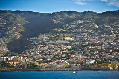 Funchal capital city of Madeira Royalty Free Stock Image
