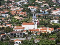 Funchal is the Capital of the island of Madeira. Here are many churches in the city and neighbourhoods. Funchal is the Capital of the island of Madeira. The royalty free stock photos