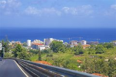 Funchal city centre, MAdeira, Portugal Stock Image