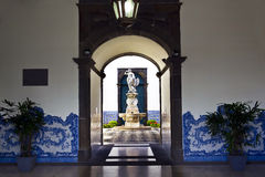 Funchal City Hall , Madeira Royalty Free Stock Images