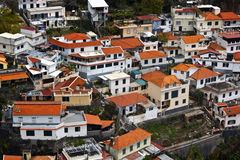 Funchal city on Madeira island, Portugal Royalty Free Stock Image