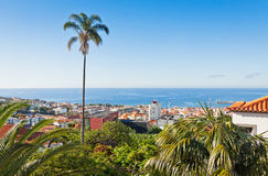 Funchal city, Madeira island, Portugal Stock Image