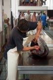 Funchal fish market, madeira Royalty Free Stock Image