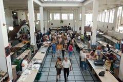 Funchal fiskmarknad, madeira Royaltyfri Fotografi