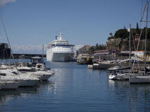 Funchal harbour Stock Image