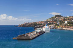 Funchal Harbour Royalty Free Stock Photos