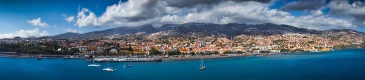 Funchal-Hauptstadt von Madeira Lizenzfreies Stockfoto