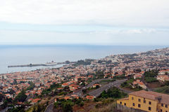 Funchal, kapitaal van Madera Royalty-vrije Stock Fotografie