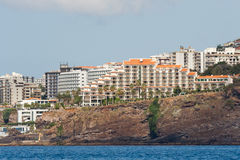 Funchal, Madère, zone d'hôtel Photographie stock
