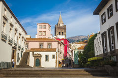 Funchal, Madeira island, Portugal. Royalty Free Stock Photos