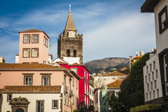Funchal, Madeira island, Portugal. Royalty Free Stock Images
