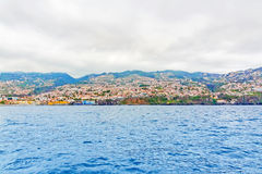 Funchal, Madeira - offshore view Royalty Free Stock Photo