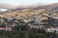 Funchal Madeira from the port Stock Photo