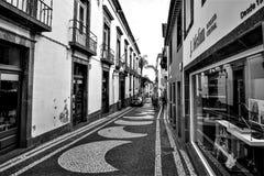FUNCHAL, MADEIRA/PORTUGAL - EM FEVEREIRO DE 2017: FUNCHAL Foto de Stock