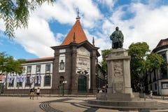 FUNCHAL MADEIRA, PORTUGAL - SEPTEMBER 10, 2017: Joao Gonçalves Arkivfoton