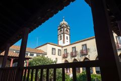 FUNCHAL, madera PORTUGALIA, WRZESIEŃ, - 9, 2017: Santa Clara obraz royalty free