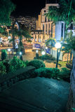 Funchal by night Stock Image