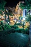 Funchal par nuit Image stock
