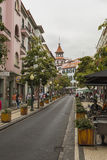 FUNCHAL, PORTUGAL - JUNE 25: Funchal city at summer time on  Jun Royalty Free Stock Image