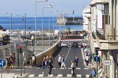 FUNCHAL, PORTUGAL - 25. JUNI: Funchal-Stadt zur Sommerzeit im Juni Stockfoto