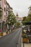 FUNCHAL, PORTUGAL - 25. JUNI: Funchal-Stadt zur Sommerzeit im Juni Lizenzfreies Stockbild