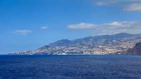 Funchal Seafront Stock Photography