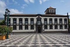 Funchal stadshus Royaltyfri Fotografi