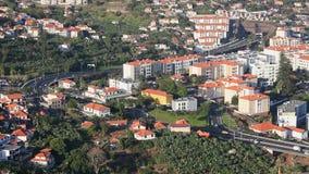 Funchal-Straßenverkehr timelapse stock video