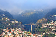 Funchal in sunset light, Madeira Island (Portugal) Stock Photo