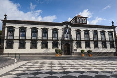 Funchal Town Hall building, Madeira, Portugal Stock Photos