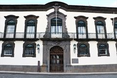 Funchal Town Hall, Madeira, Portugal Stock Photography