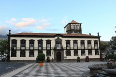 Funchal Town Hall, Madeira, Portugal Royalty Free Stock Photos
