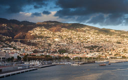 Funchal Waterfront Stock Image