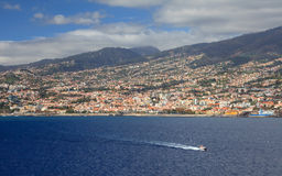 Funchal Waterfront Stock Photography