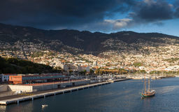 Funchal Waterfront Stock Photo