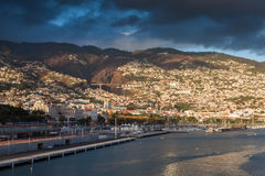 Funchal Waterfront Stock Images