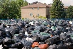 Funcionários camarários de Toronto na batida Fotografia de Stock