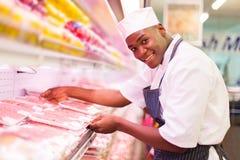 Funcionamento africano do carniceiro imagens de stock