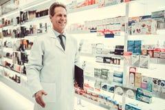 Funcionamento considerável do farmacêutico imagem de stock