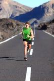 Funcionamento - corredor masculino do atleta imagens de stock royalty free