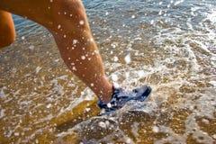 Funcionamento da água Imagem de Stock