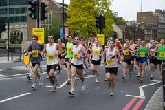 Funcionamento da maratona Imagem de Stock Royalty Free